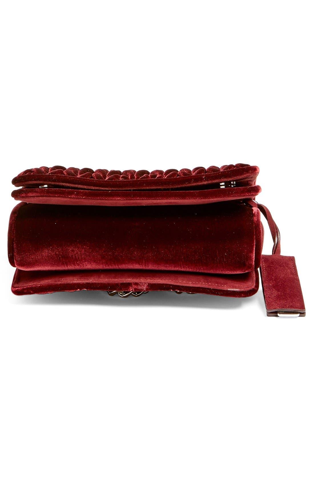 Alternate Image 6  - Miu Miu 'Small Club' Matelassé Velvet Shoulder Bag