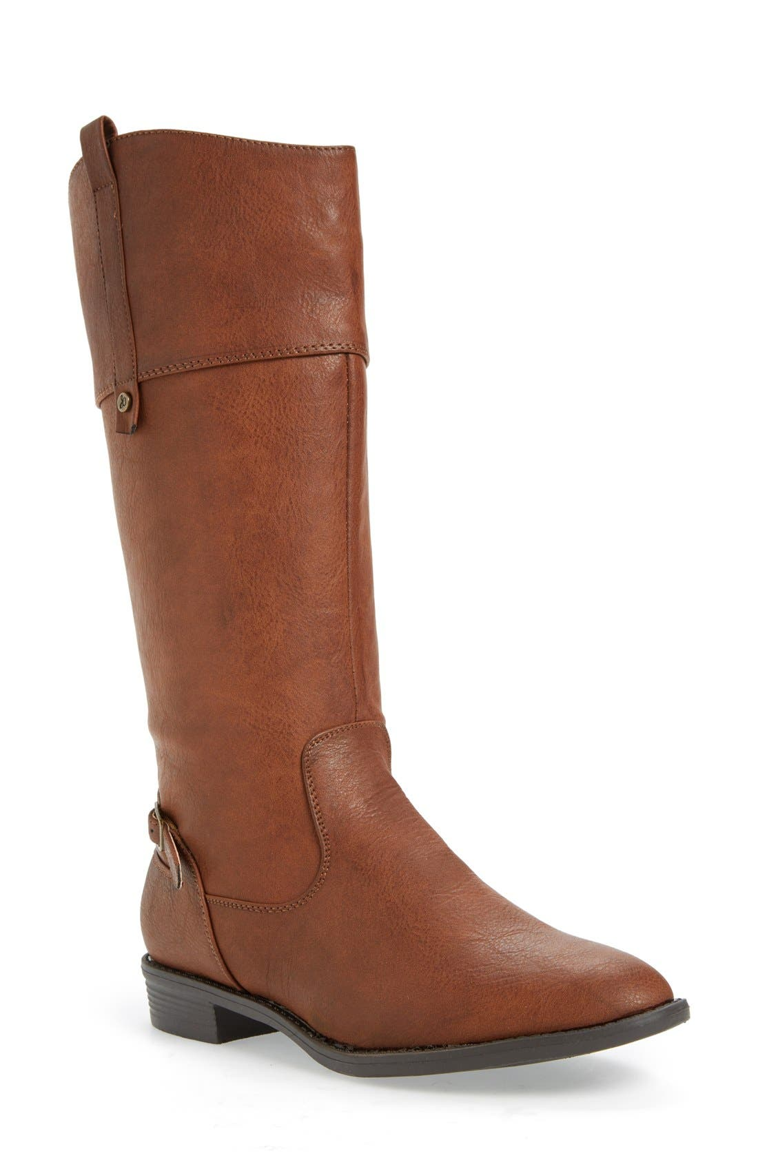 Alternate Image 1 Selected - Sam Edelman 'Pia' Riding Boot (Toddler, Little Kid & Big Kid)
