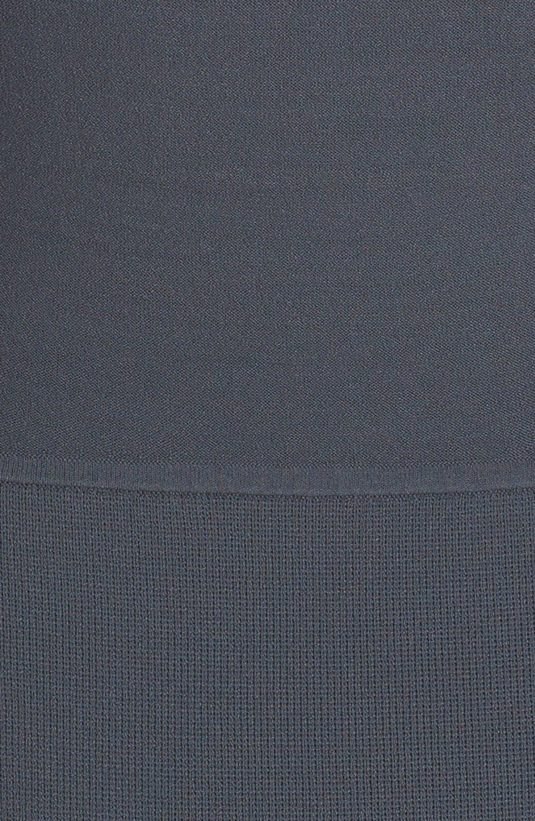 Alternate Image 3  - Narciso Rodriguez Double Knit Midi Sheath Dress