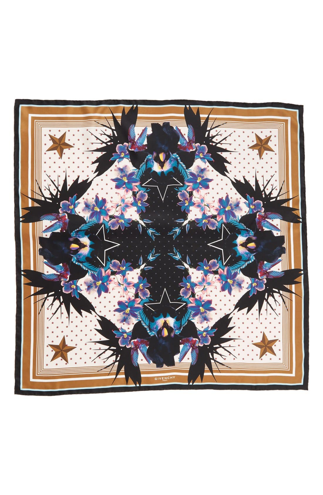 Givenchy 'Ultra Paradise' Floral Silk Scarf
