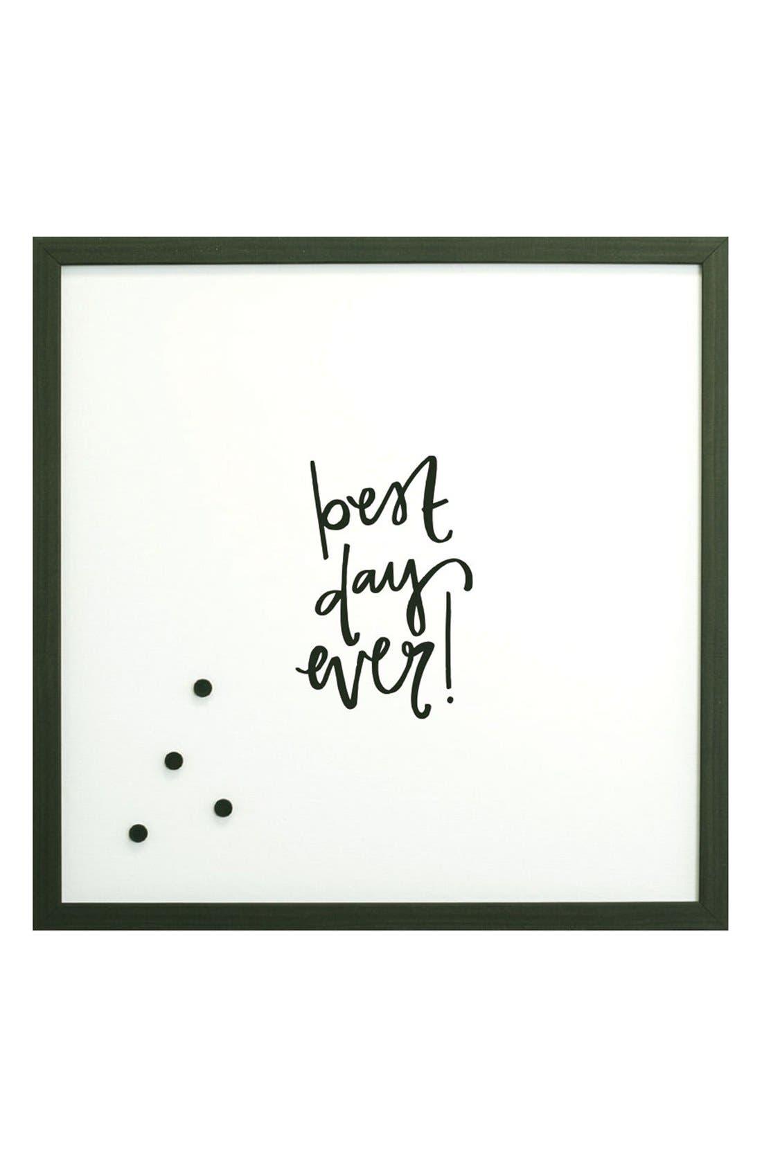 Petal Lane 'Best Day Ever' Magnet Board