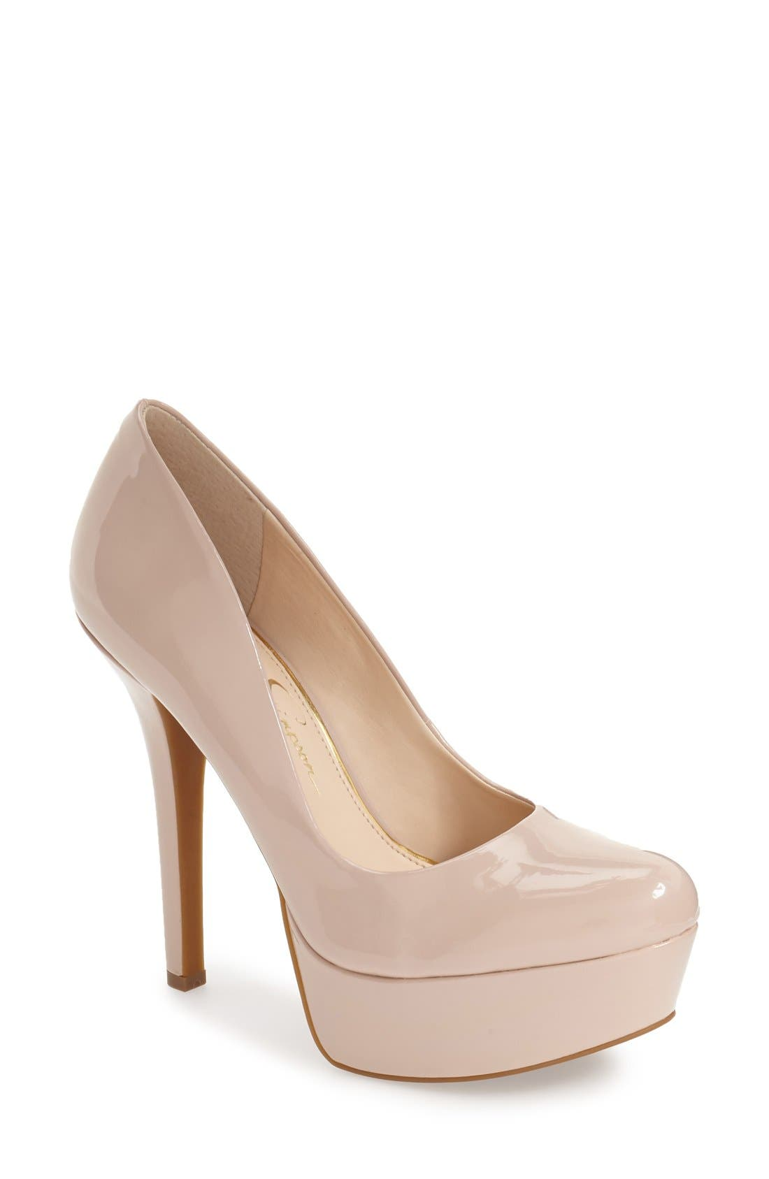 Alternate Image 1 Selected - Jessica Simpson 'Meave' Platform Pump (Women)