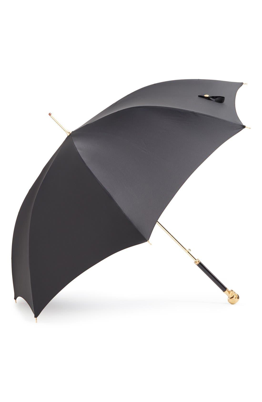 Alternate Image 1 Selected - Alexander McQueen Gabardine Umbrella