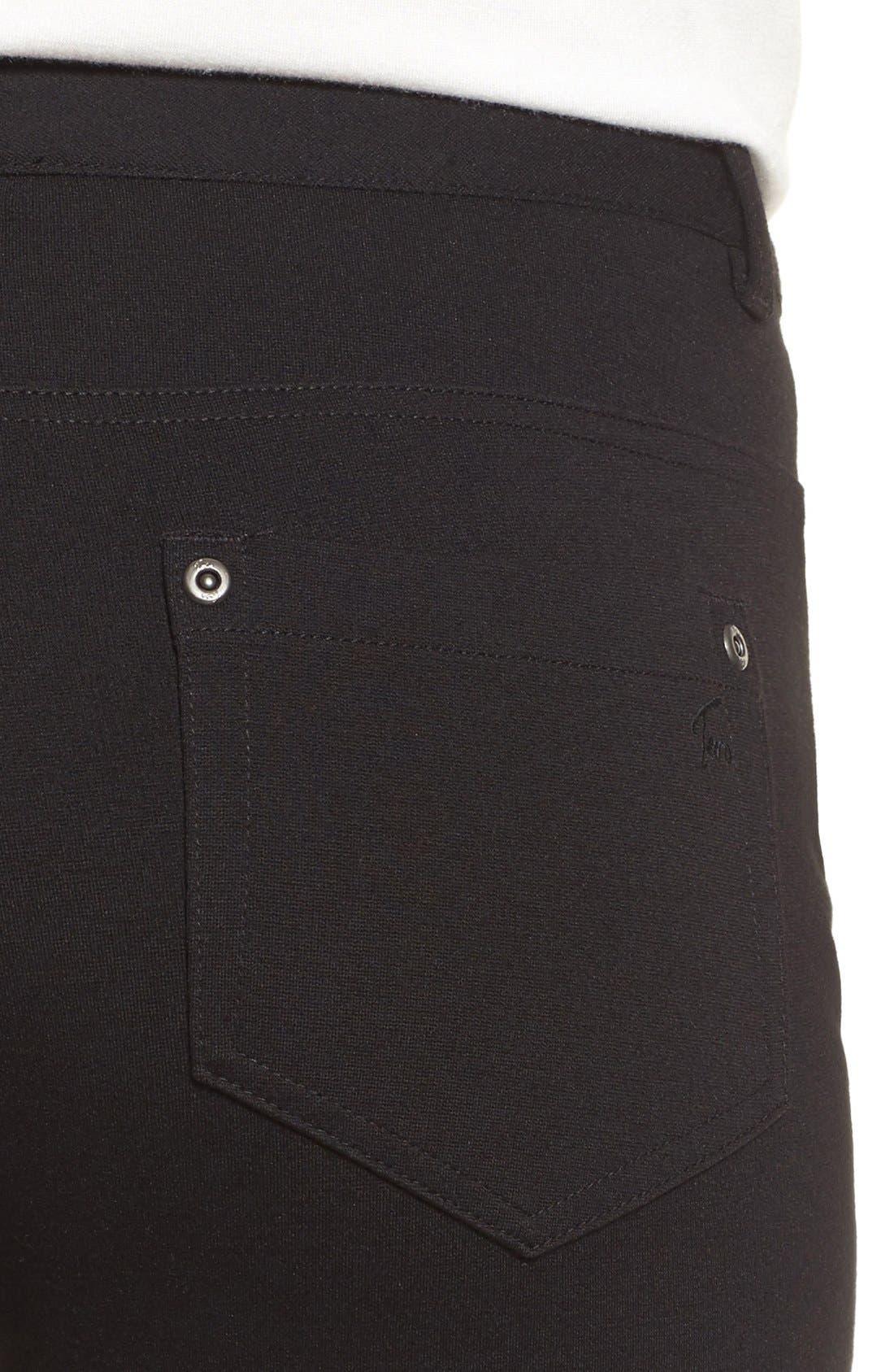Alternate Image 4  - Two by Vince Camuto Skinny Ponte Pants (Regular & Petite)