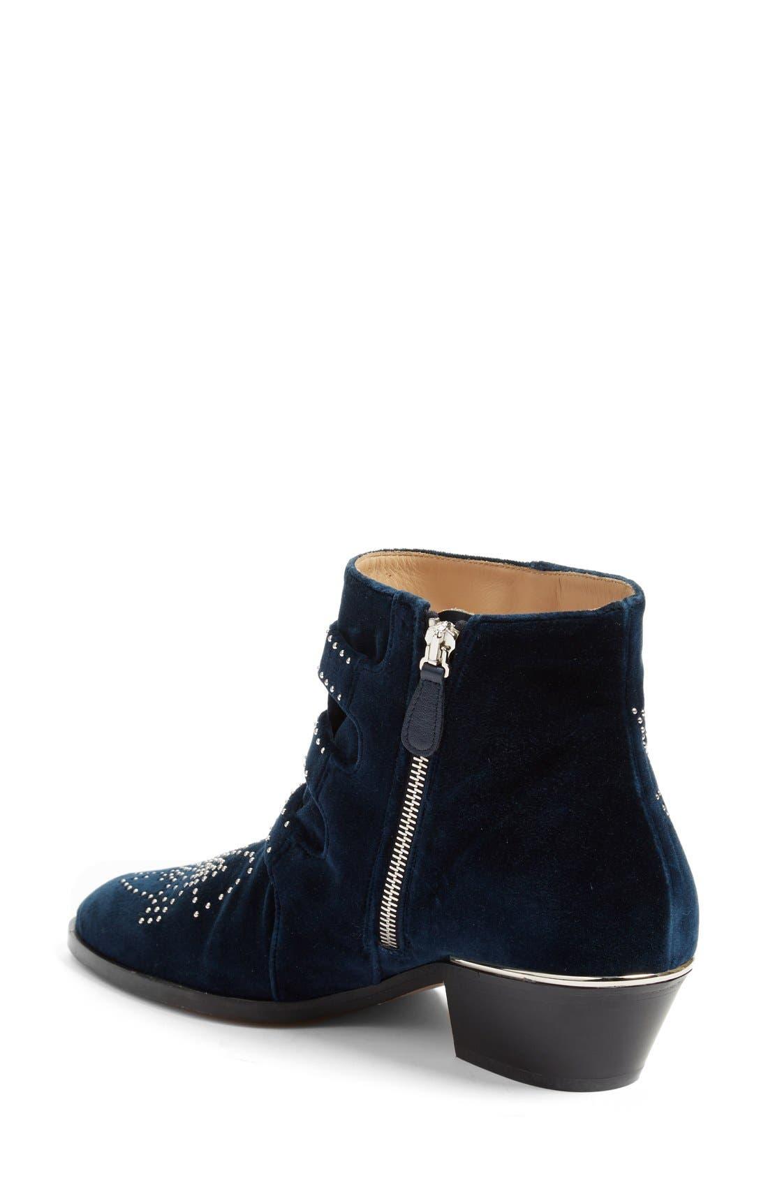 Alternate Image 2  - Chloé 'Susan' Studded Buckle Boot (Women)