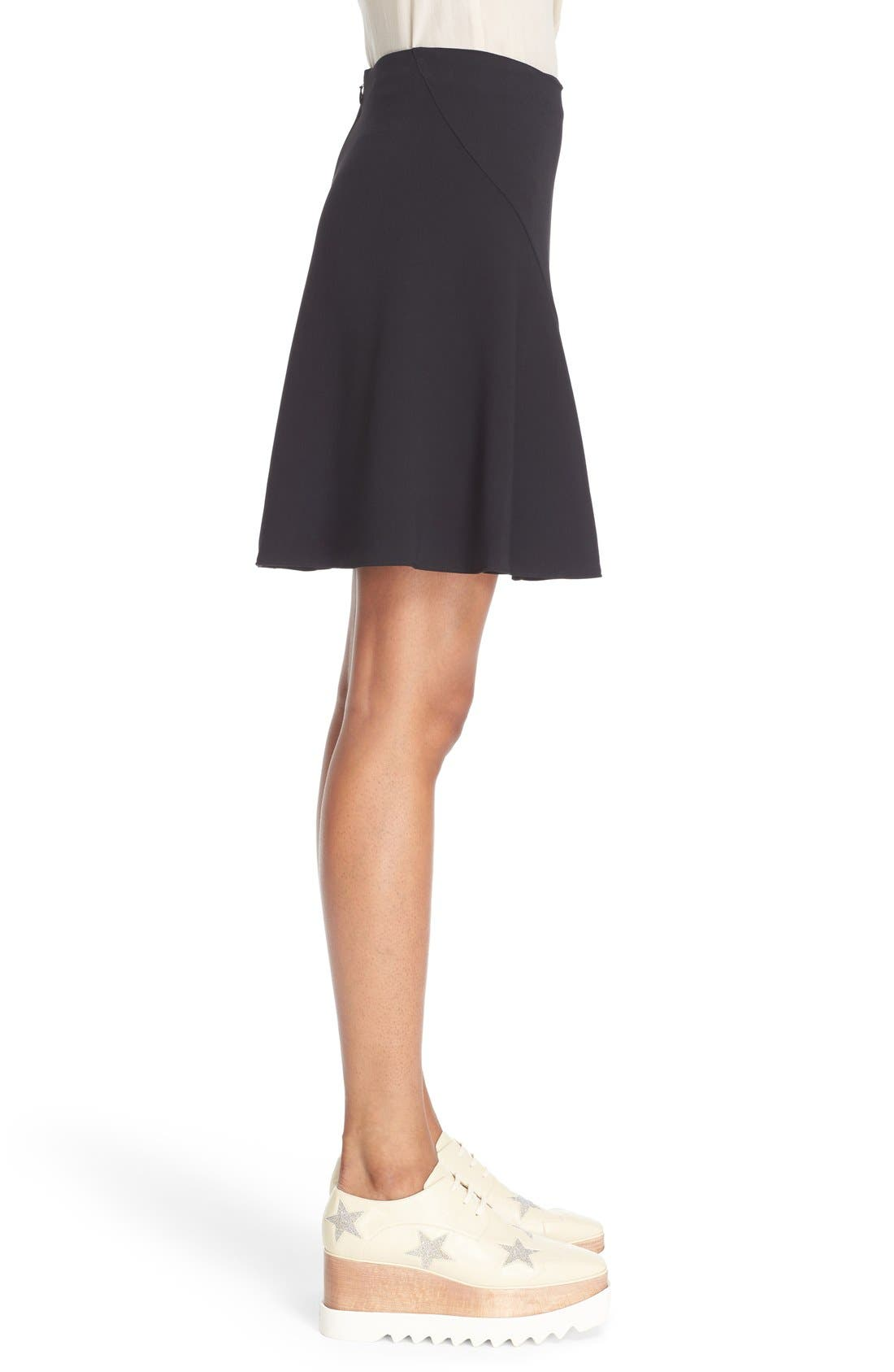 Alternate Image 4  - Stella McCartney Stretch Cady Skater Skirt