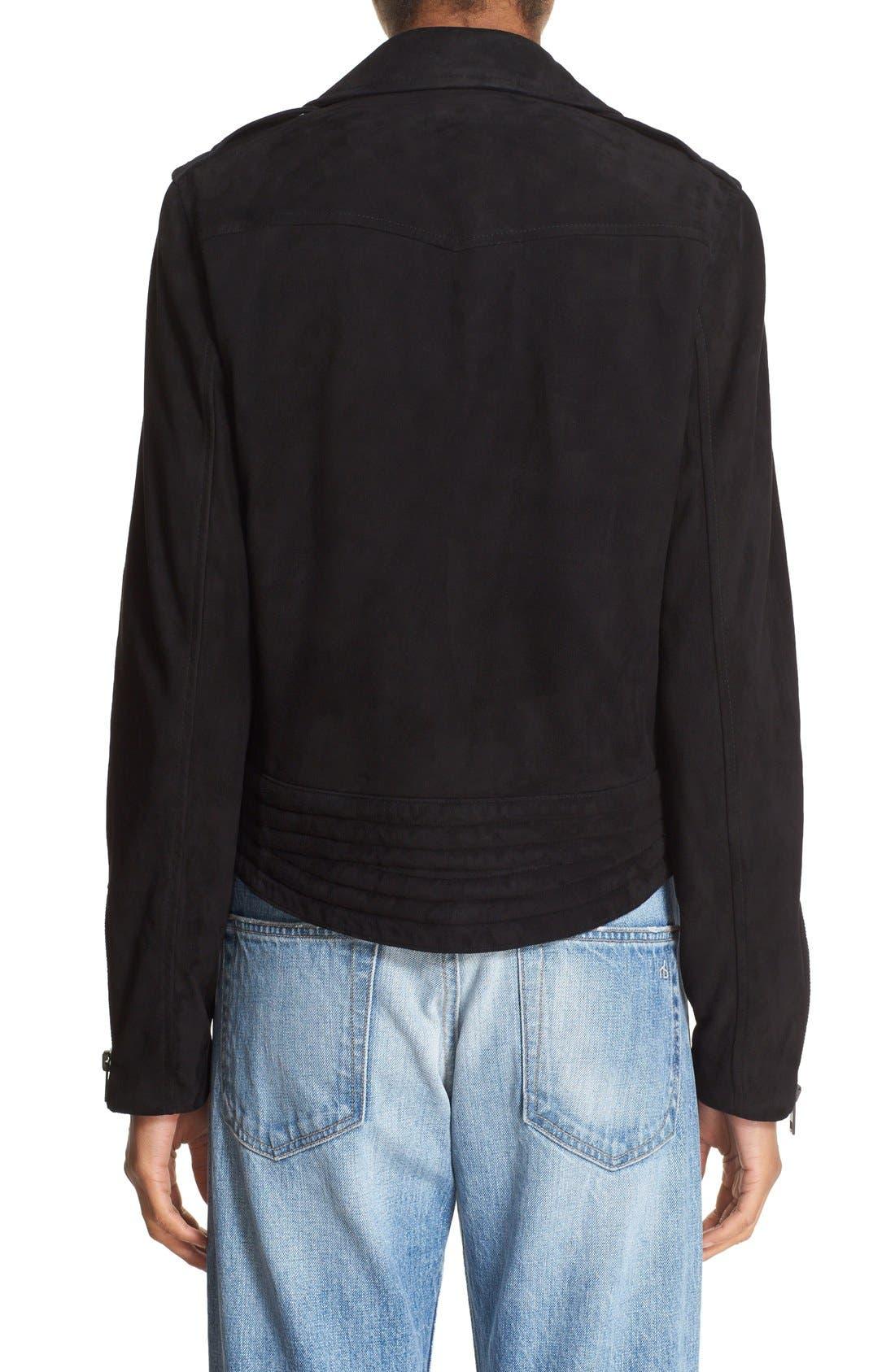 Alternate Image 2  - rag & bone/JEAN 'Mercer' Suede Jacket