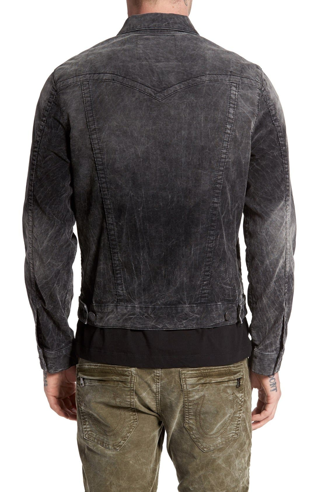 Alternate Image 2  - True Religion Brand Jeans 'Jimmy' Corduroy Western Jacket