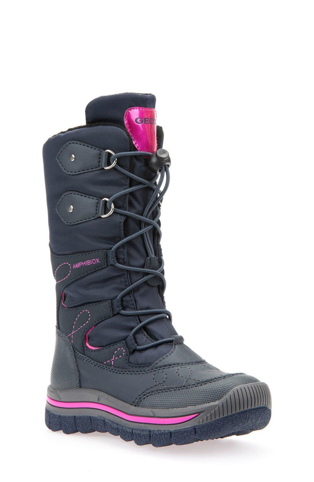 Geox 'Overland ABX' Waterproof Boot (Toddler, Little Kid & Big Kid)