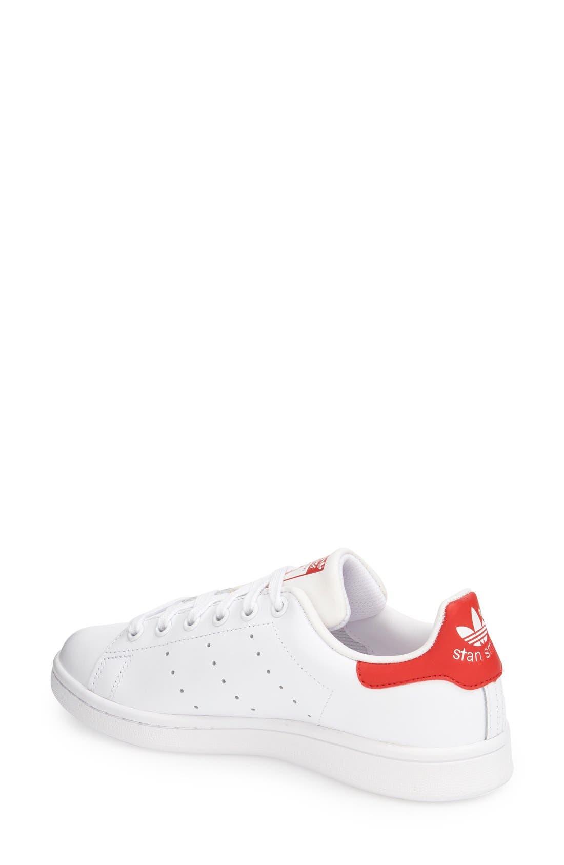 Alternate Image 2  - adidas Stan Smith Sneaker (Women)