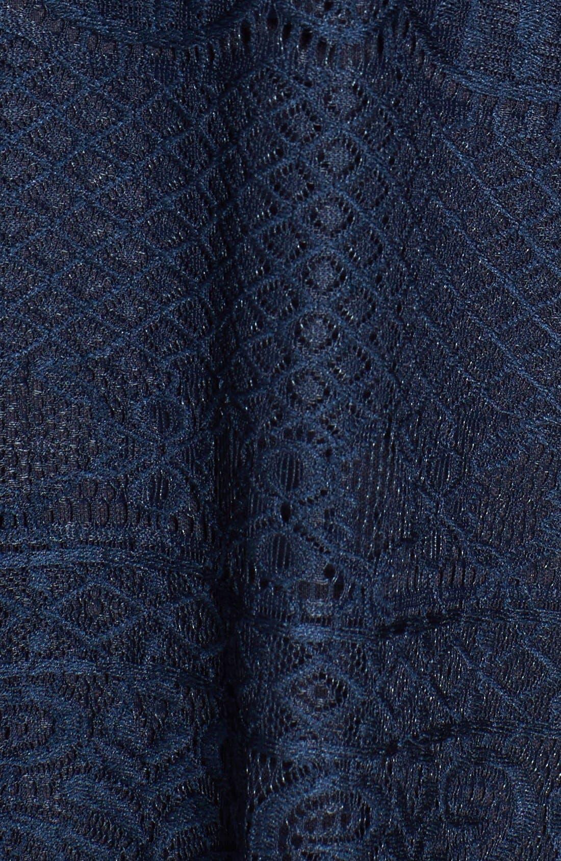 Alternate Image 5  - Speechless Bell Sleeve Lace Shift Dress