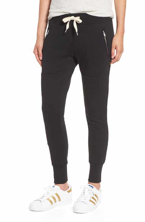 Black Cropped Pants for Women: Jeans, Print, Capri & More | Nordstrom