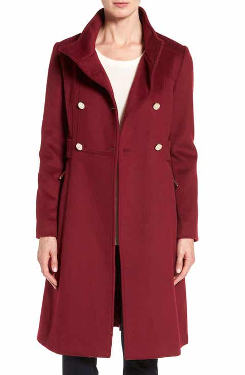 Women's Red Wool Coats | Nordstrom