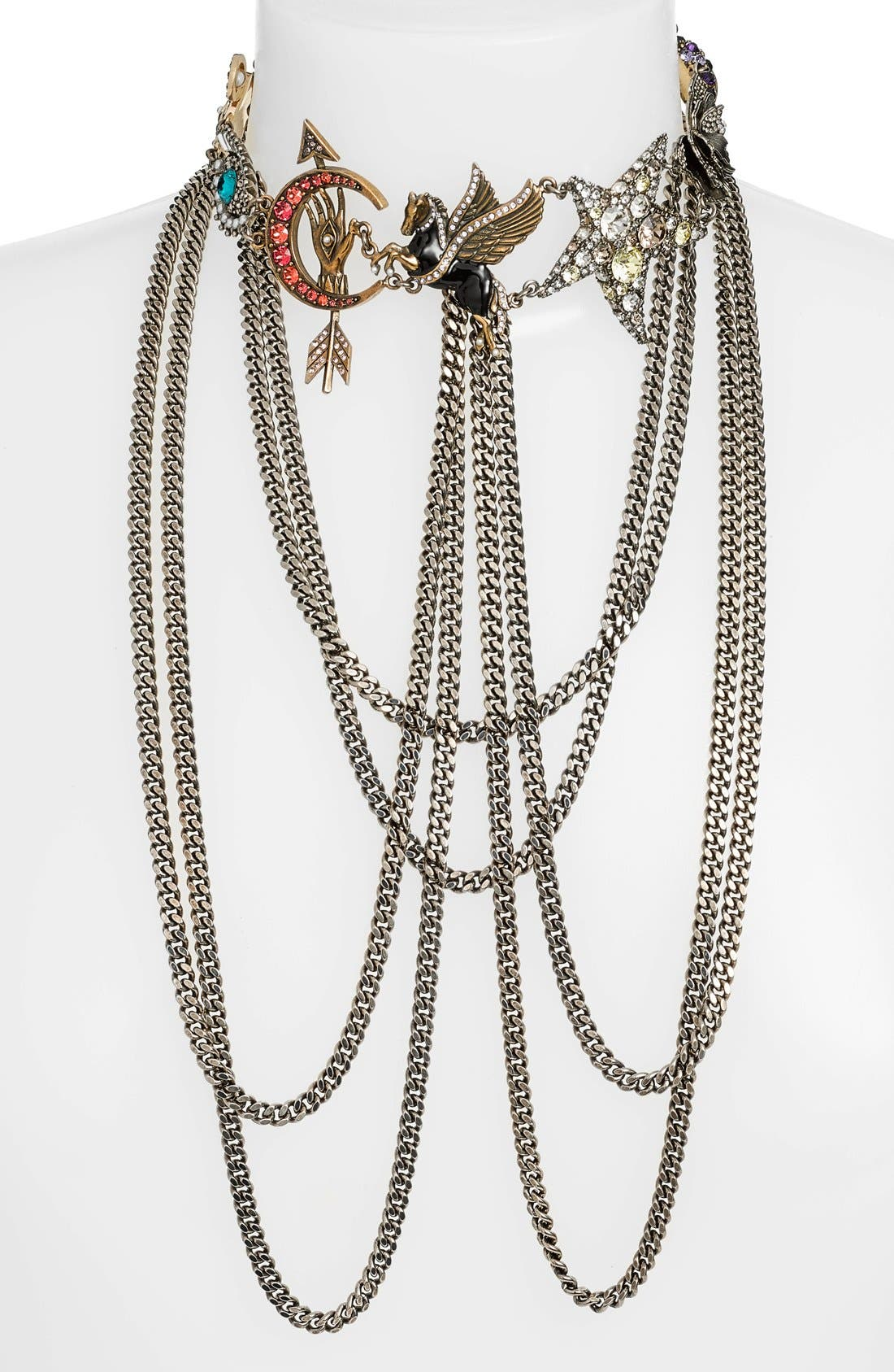 Alternate Image 2  - Alexander McQueen 'Pegasus' Multistrand Necklace