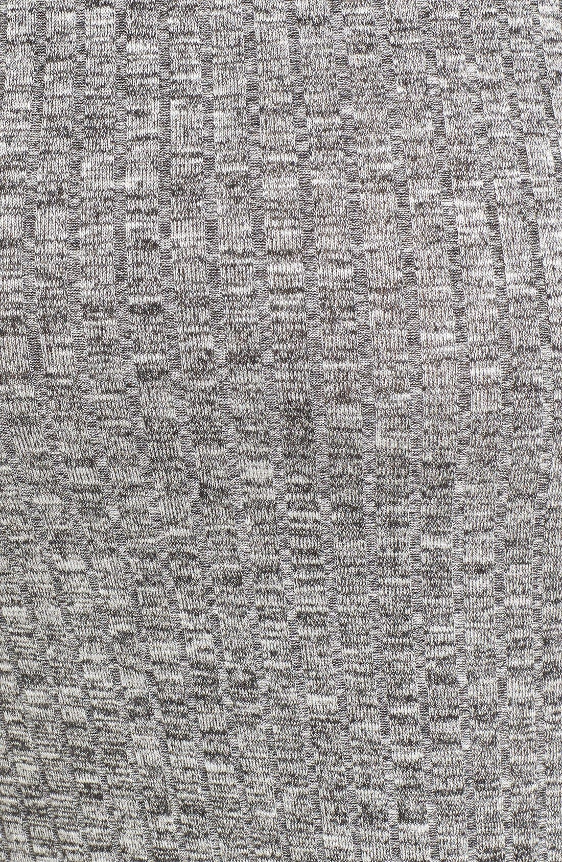 Alternate Image 5  - Love Squared Rib Knit Midi Dress