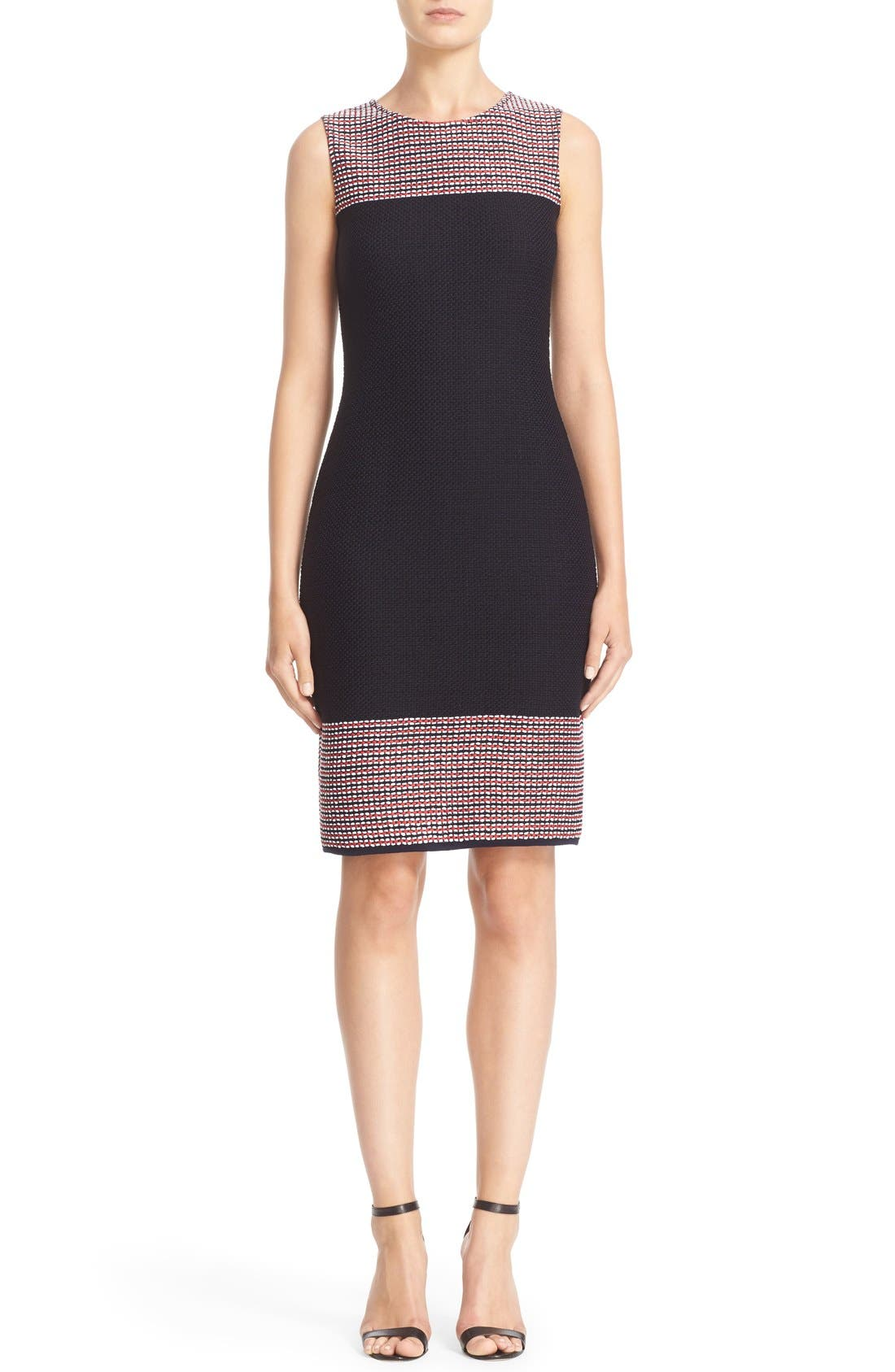 ST. JOHN COLLECTION Martinique Tweed Sheath Dress
