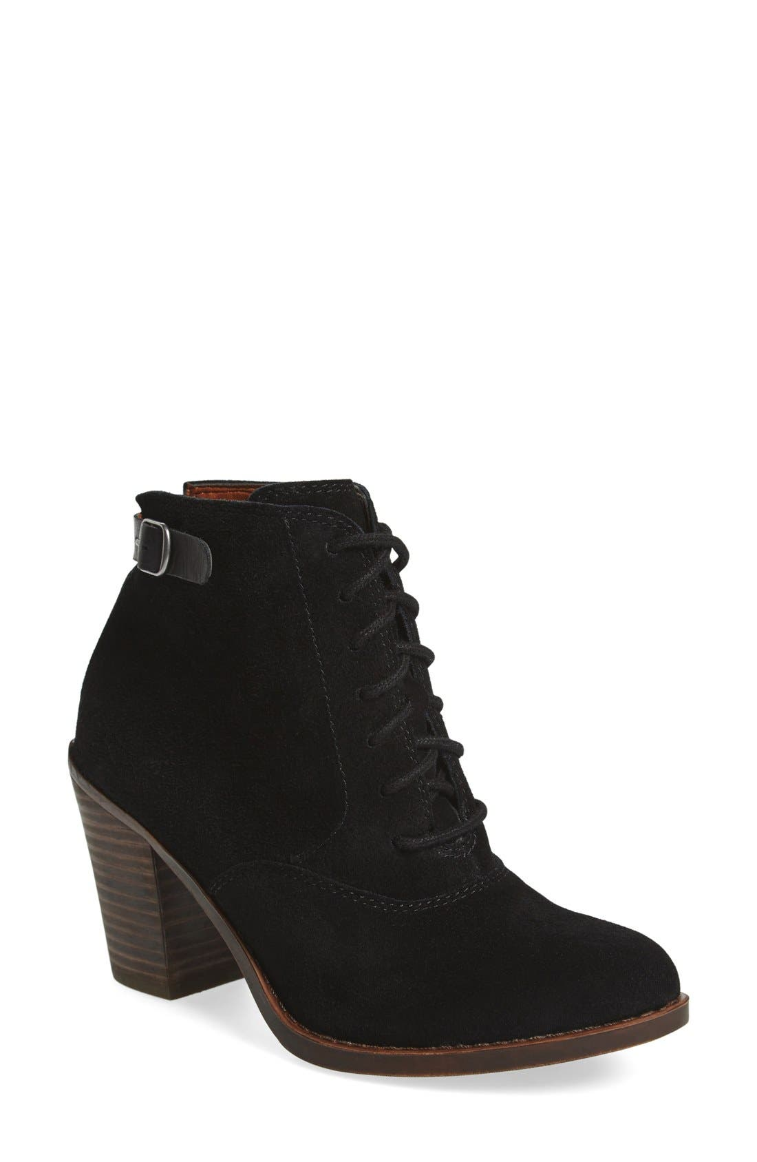 Lucky Brand 'Echoh' Lace-Up Bootie (Women)