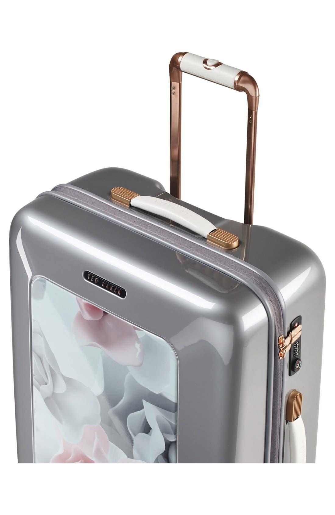 Alternate Image 4  - Ted Baker London 'Large Porcelain Rose' Four Wheel Suitcase (31 Inch)