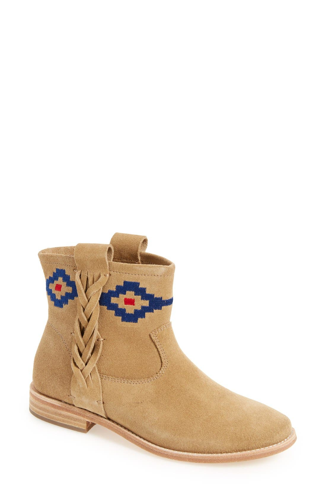 Main Image - Soludos Embroidered Bootie (Women)