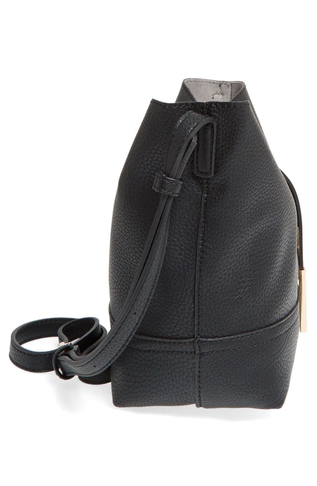 Alternate Image 5  - Street Level Faux Leather Bucket Bag