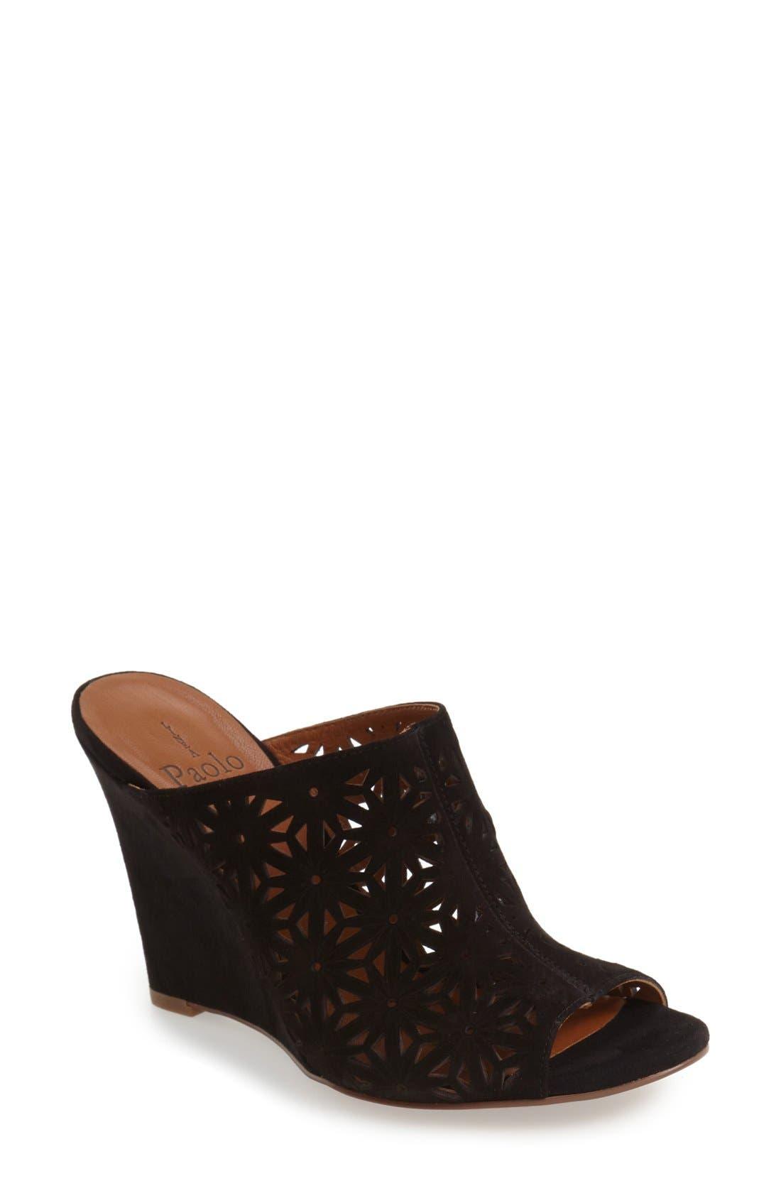 Main Image - Linea Paolo 'Wendy' Wedge Sandal (Women)