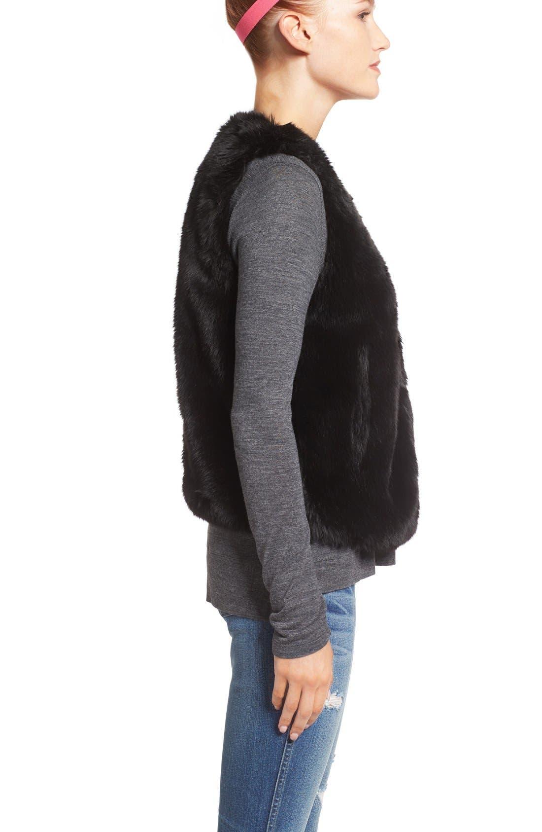 Alternate Image 3  - Madewell Faux Fur Vest