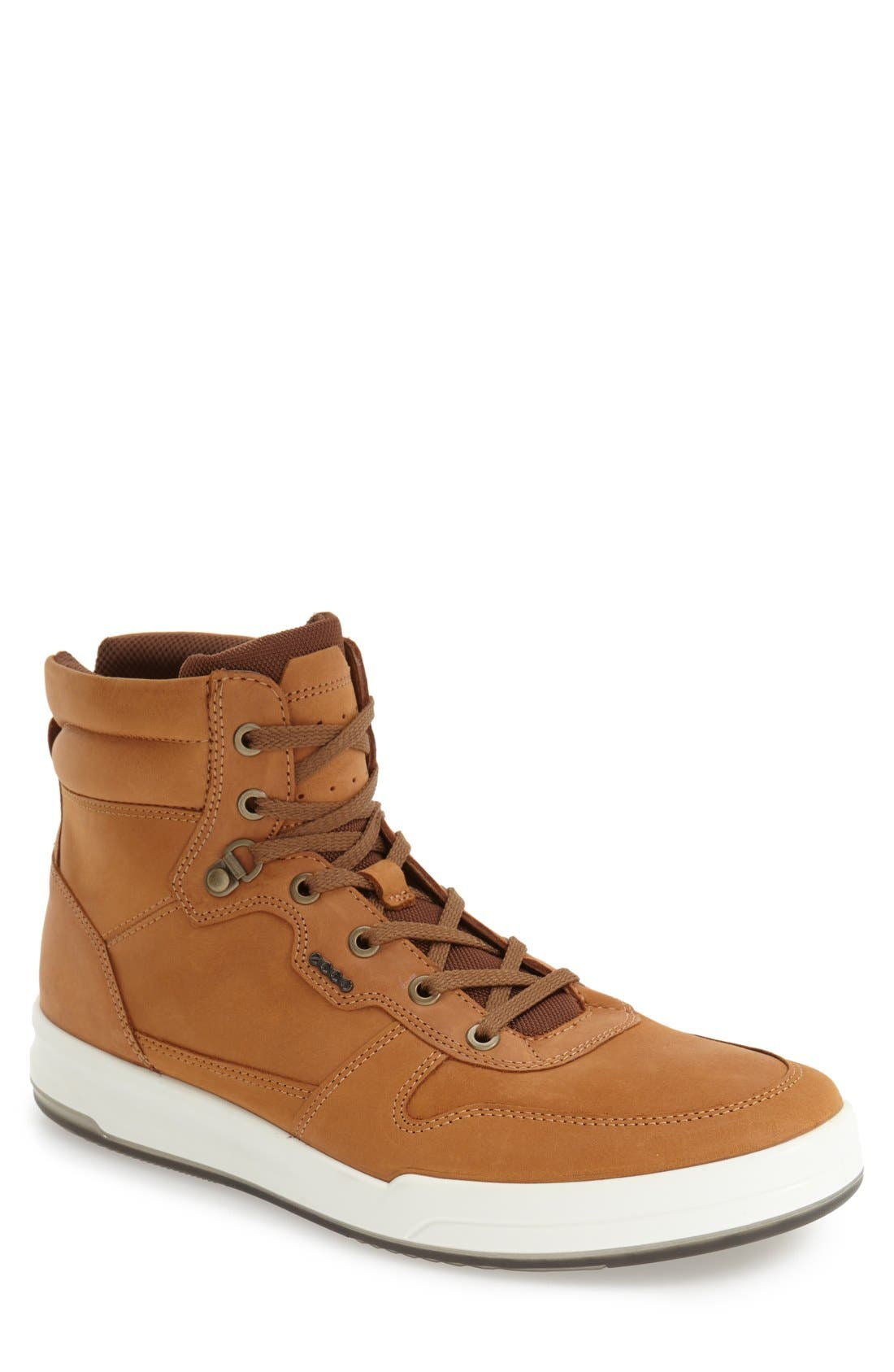ECCO 'Jack' High Top Sneaker