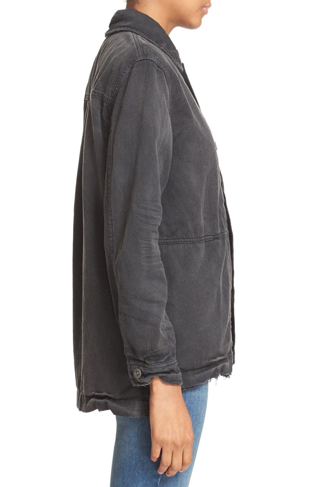 Alternate Image 4  - Free People Embellished Military Shirt Jacket