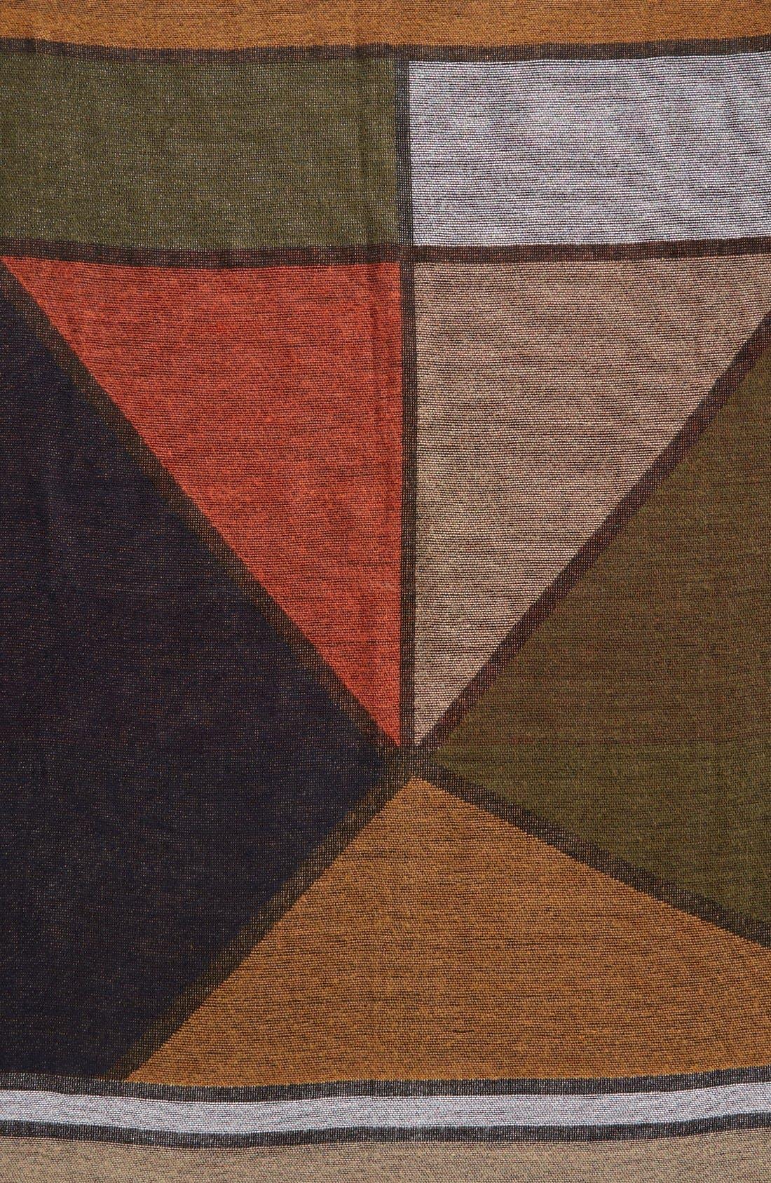 Alternate Image 4  - BP. Geo Pattern Woven Square Scarf