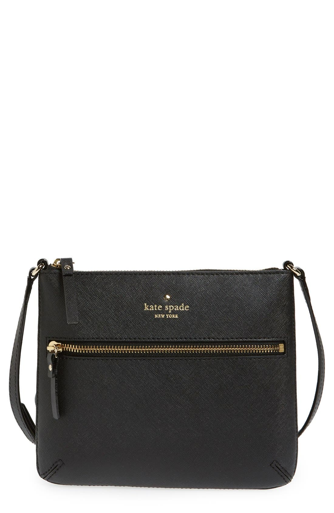 Main Image - kate spade new york 'tenley' saffiano leather crossbody bag