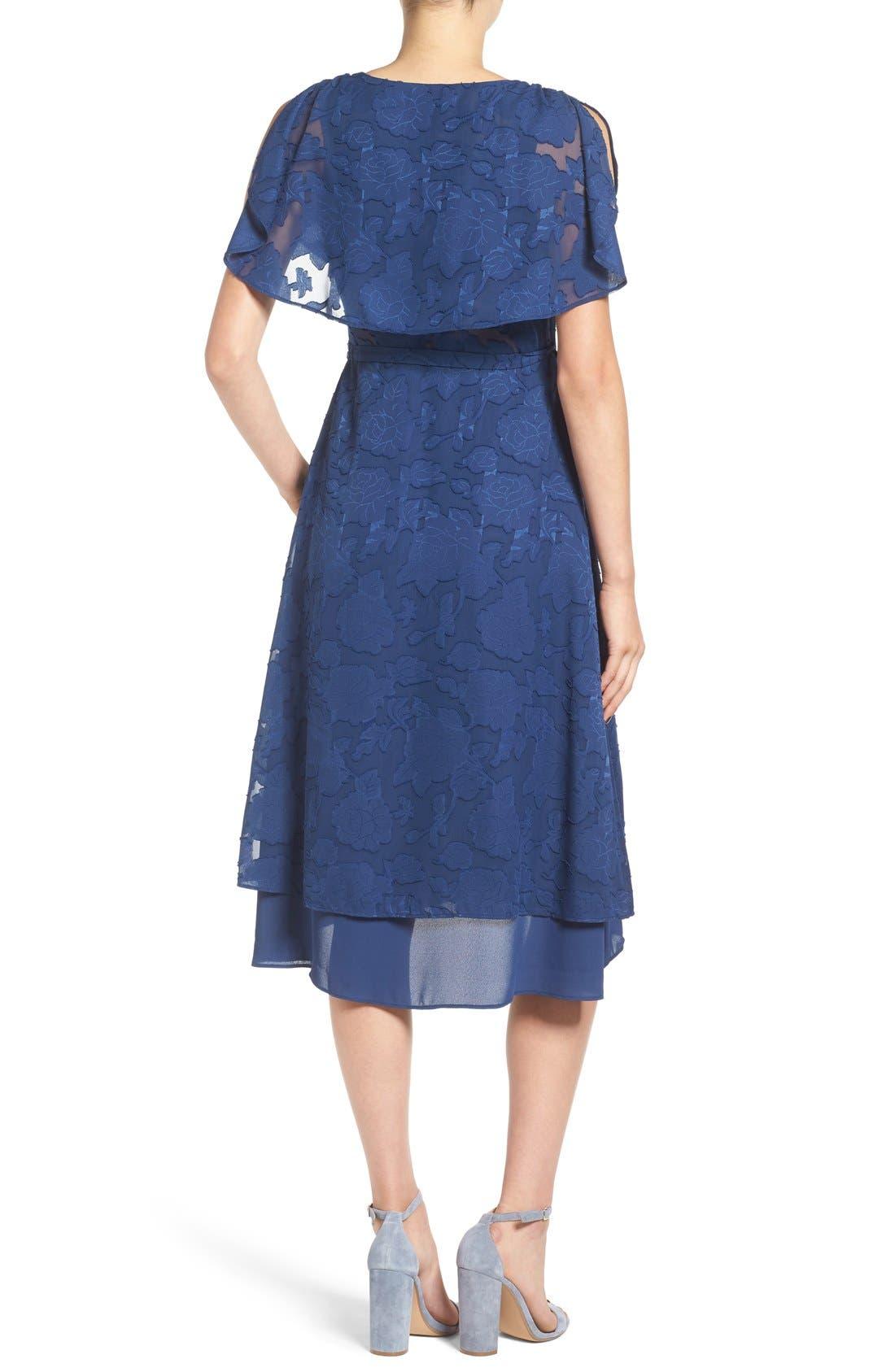 Alternate Image 2  - Ten Sixty Sherman Chiffon Wrap Dress