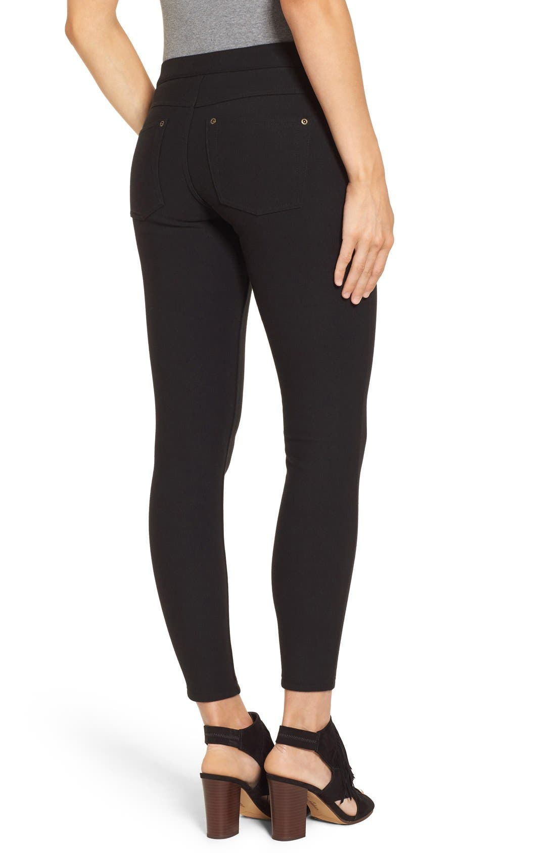 Alternate Image 2  - Hue Fleece Lined Leggings