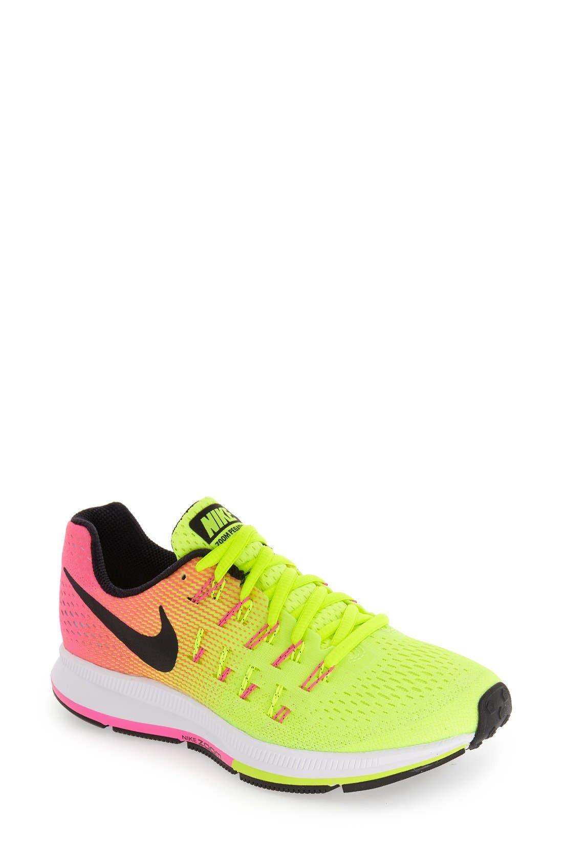 Alternate Image 1 Selected - Nike 'Air Zoom Pegasus 33' Sneaker (Women)