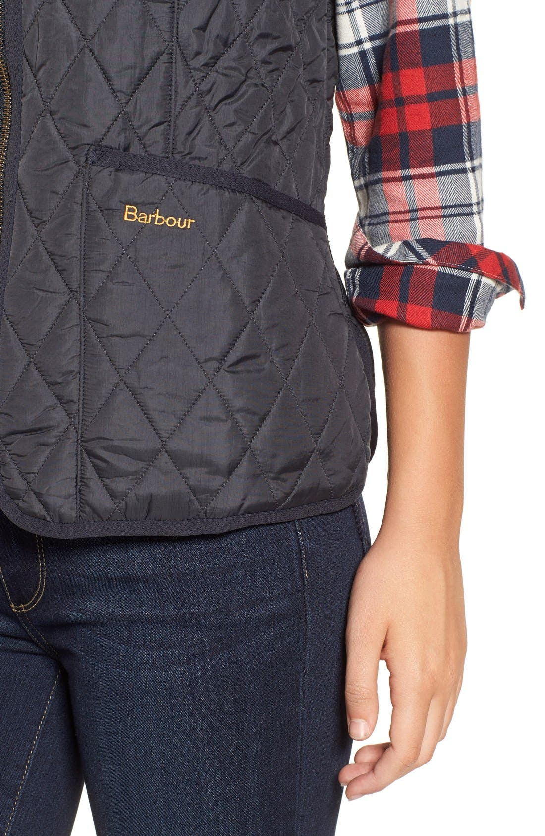 Alternate Image 4  - Barbour 'Beadnell' Quilted Liner