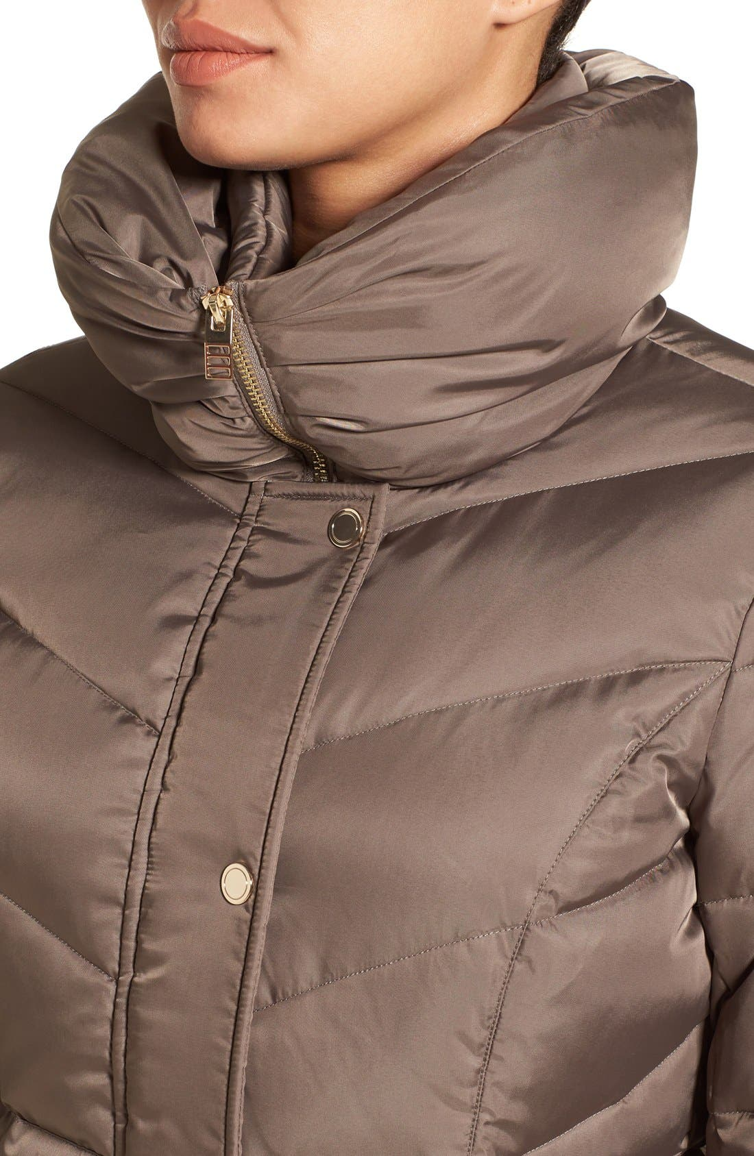 Alternate Image 4  - Kenneth Cole New York Hooded Down Coat