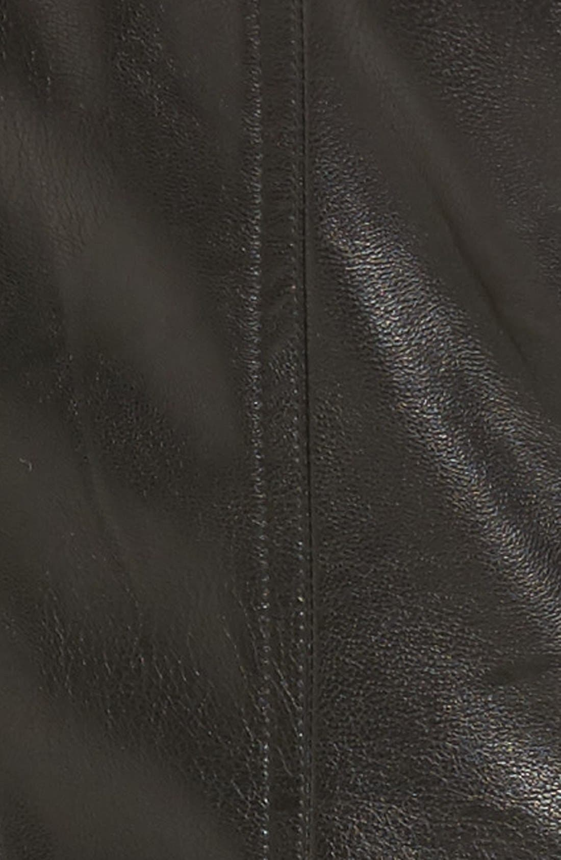 Alternate Image 4  - KUT from the Kloth 'Elena' Faux Leather Motocross Jacket