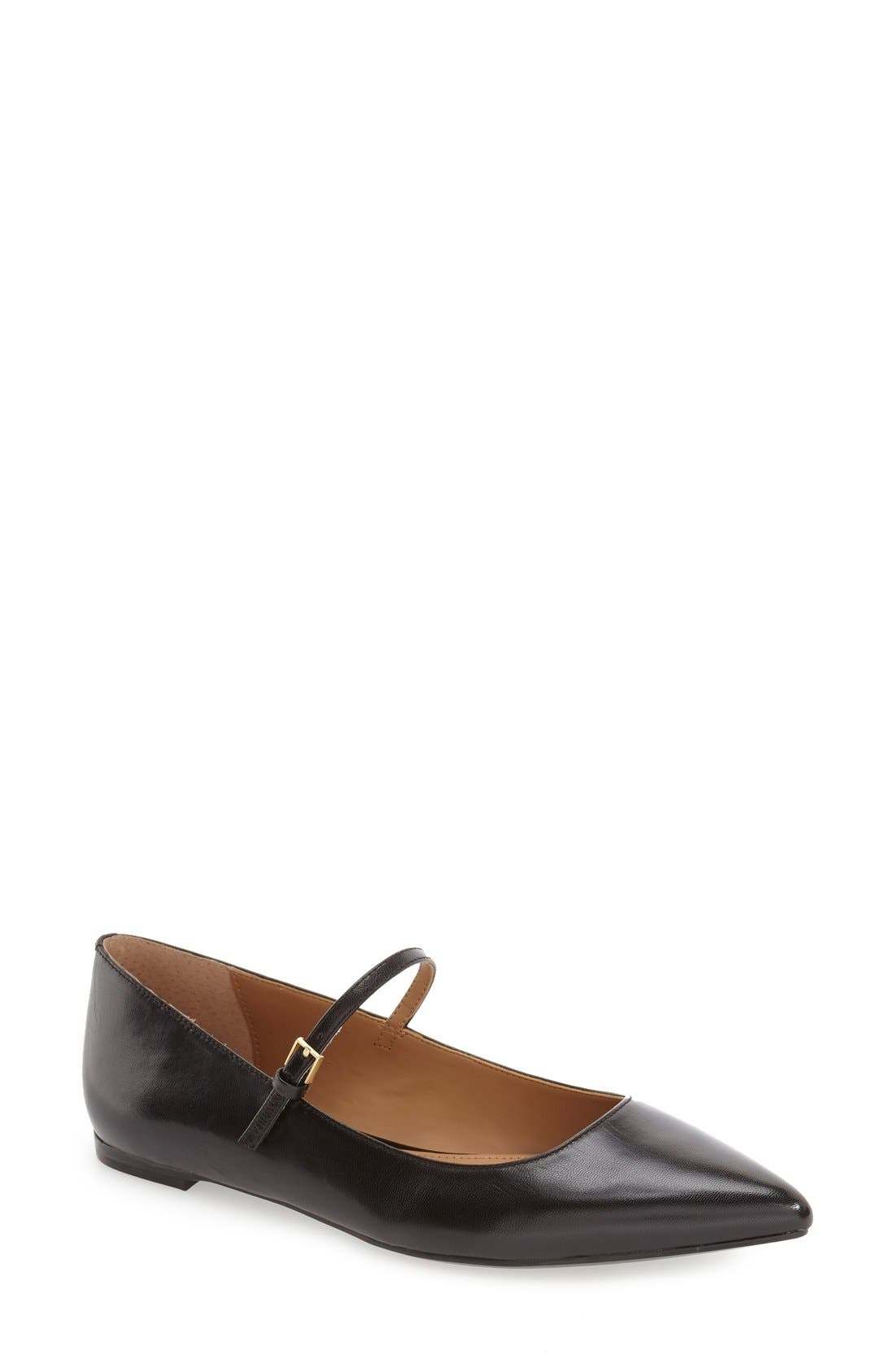 Alternate Image 1 Selected - Calvin Klein 'Gracy' Mary Jane Flat (Women)