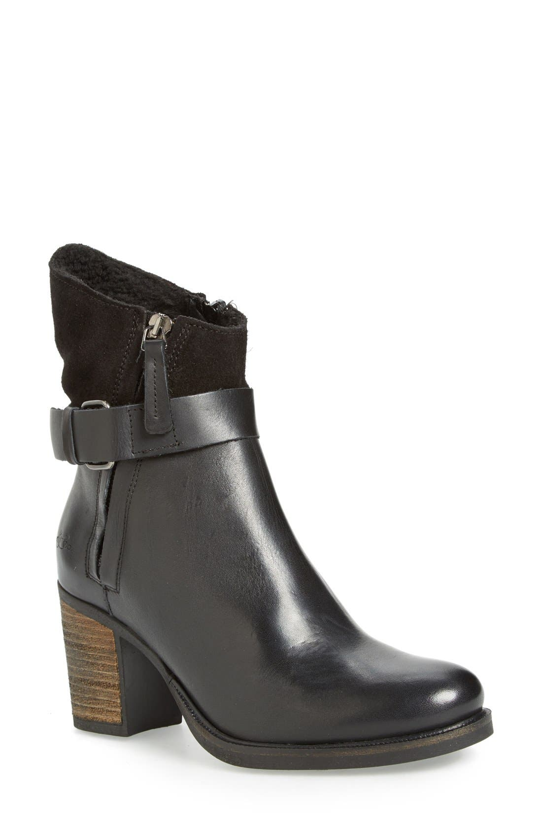 BOS. & CO. 'Bestie' Waterproof Zip Bootie