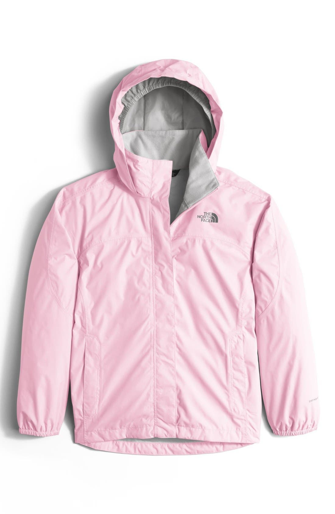 Alternate Image 1 Selected - The North Face 'Resolve' Waterproof Rain Jacket (Little Girls & Big Girls)