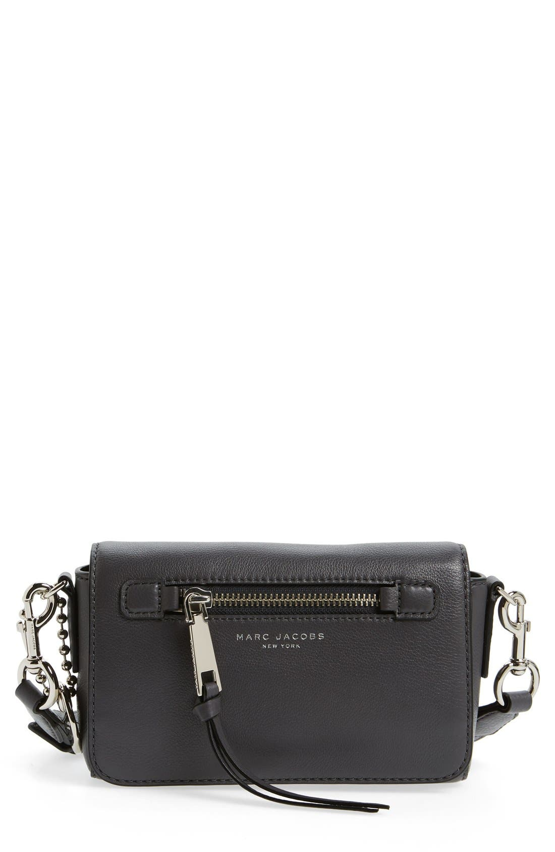 MARC JACOBS 'Recruit' Leather Crossbody Bag