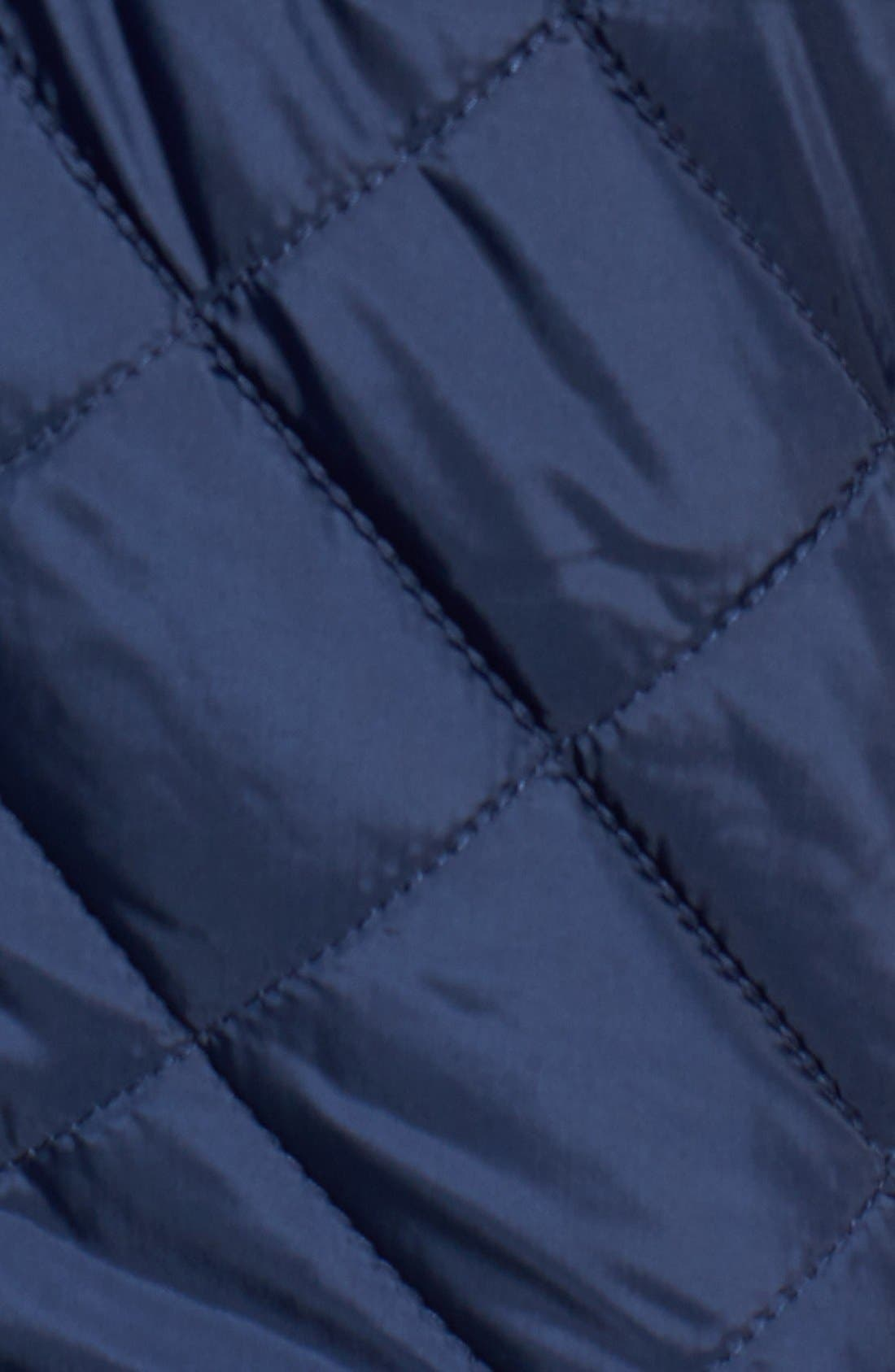 Alternate Image 5  - Cole Haan Mixed Media Quilted Jacket
