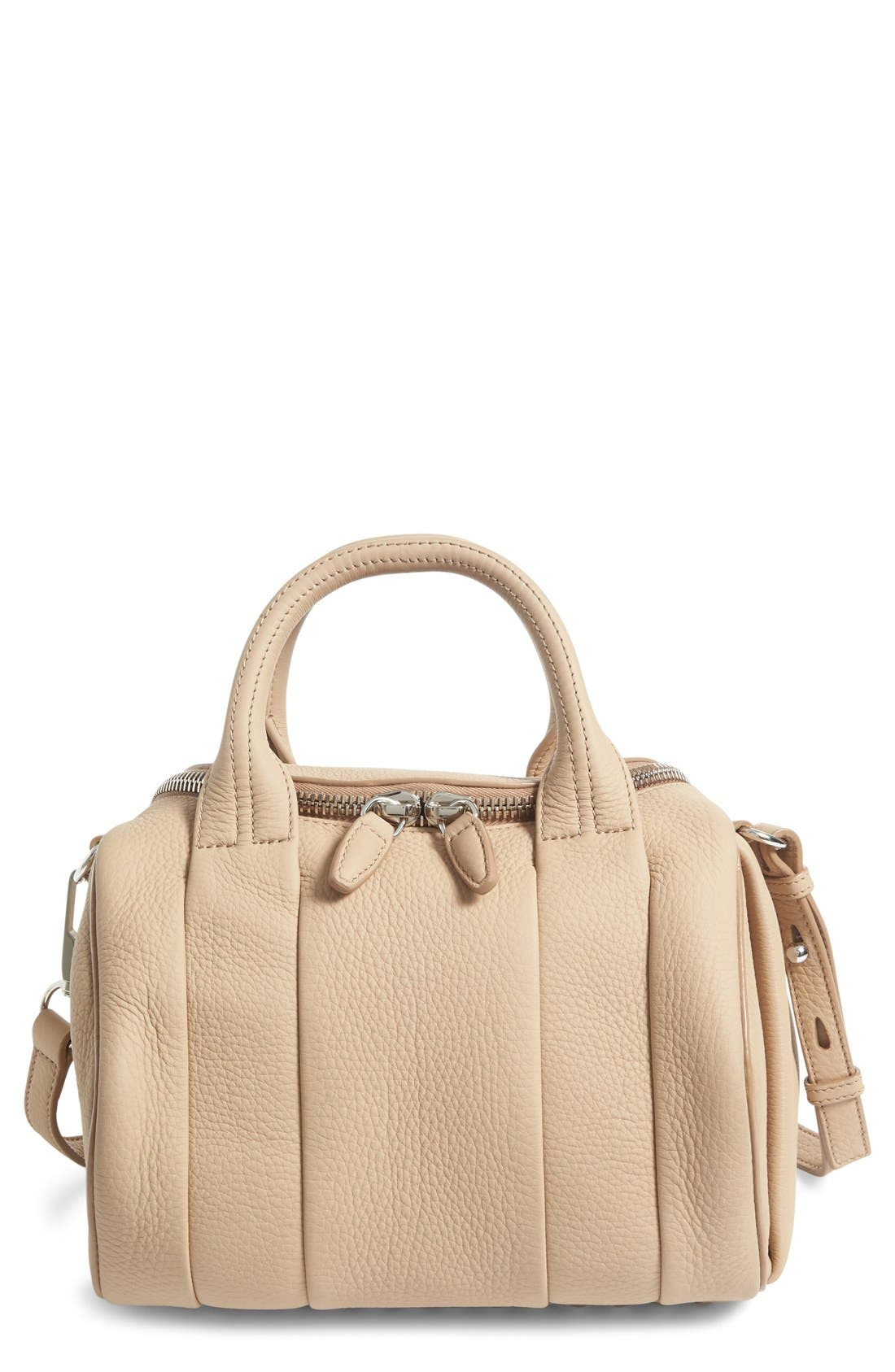 Alternate Image 1 Selected - Alexander Wang Rockie Matte Pebbled Leather Satchel