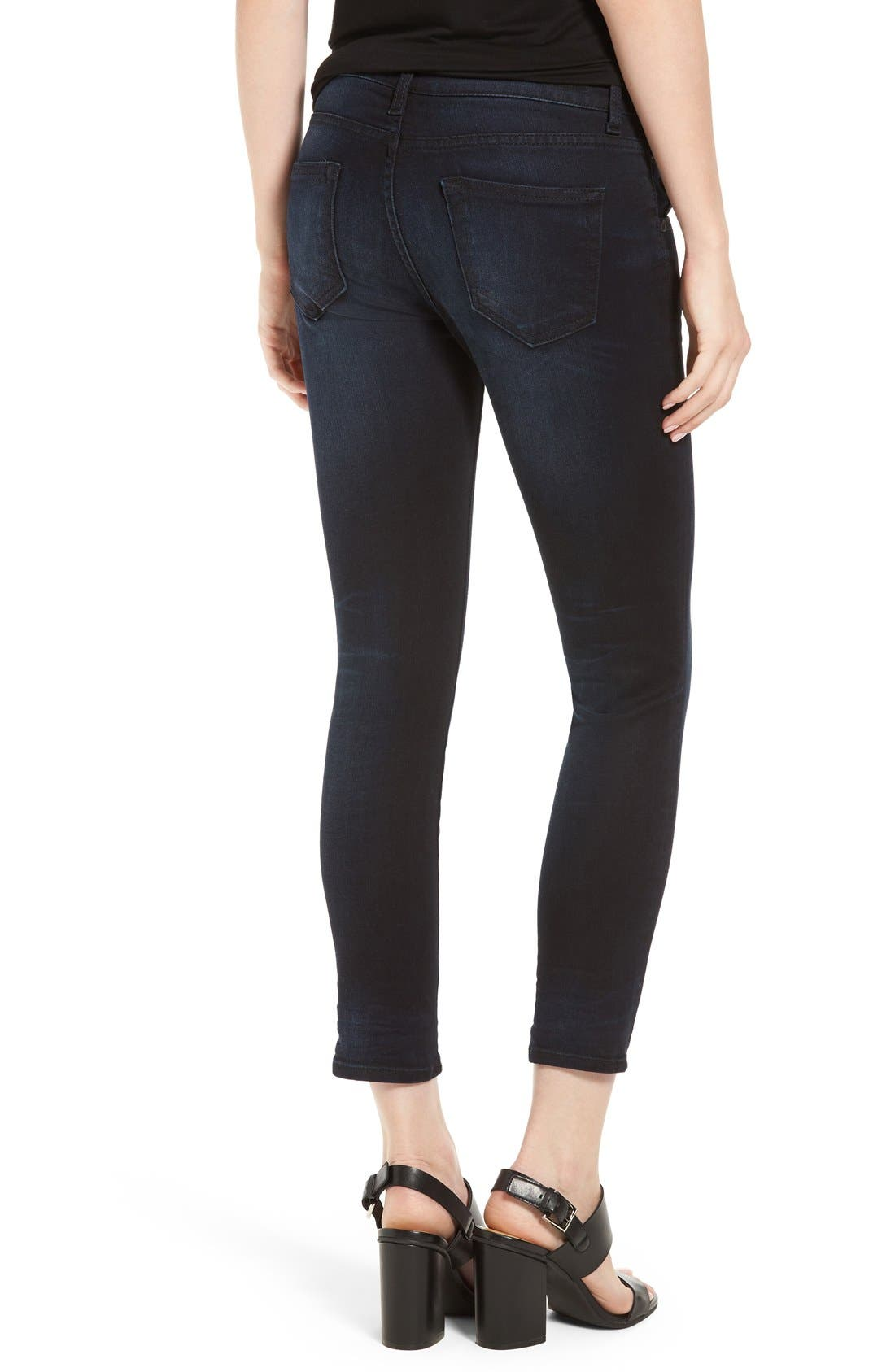 Alternate Image 2  - KUT from the Kloth Stretch Crop Skinny Jeans (Refresh)