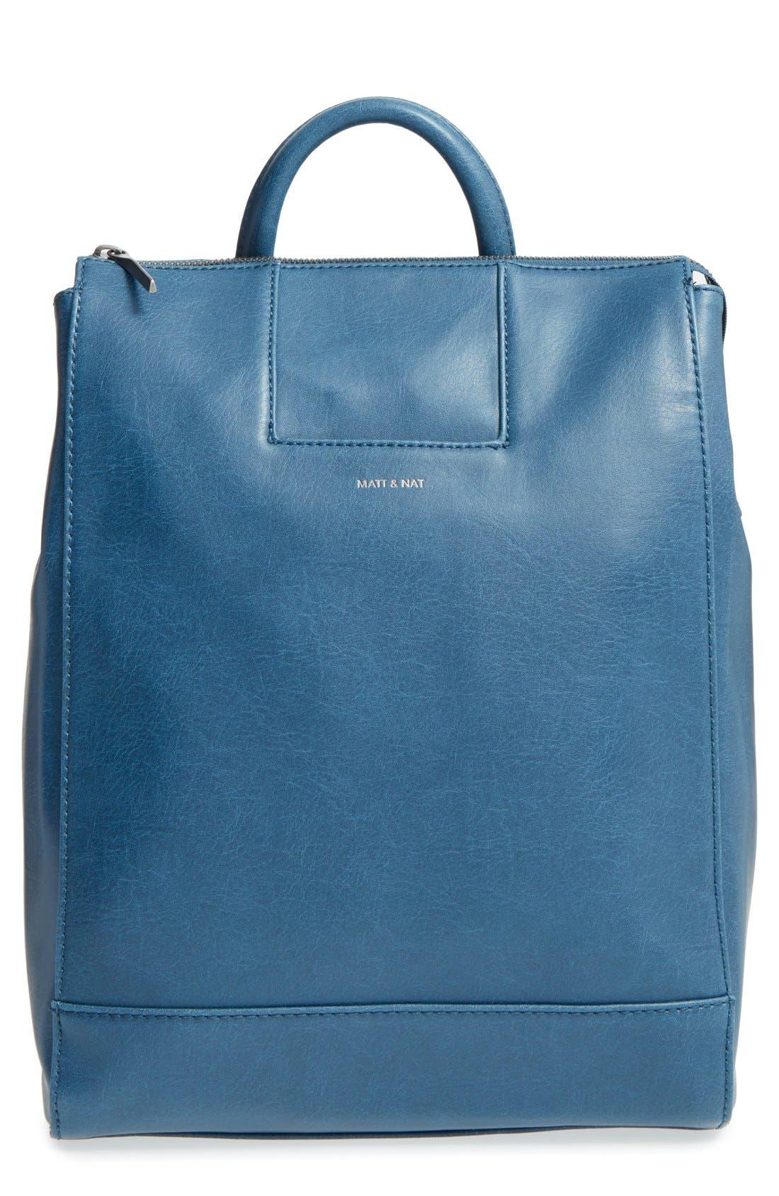 Alternate Image 1 Selected - Matt & Nat 'Katherine' Faux Leather Backpack