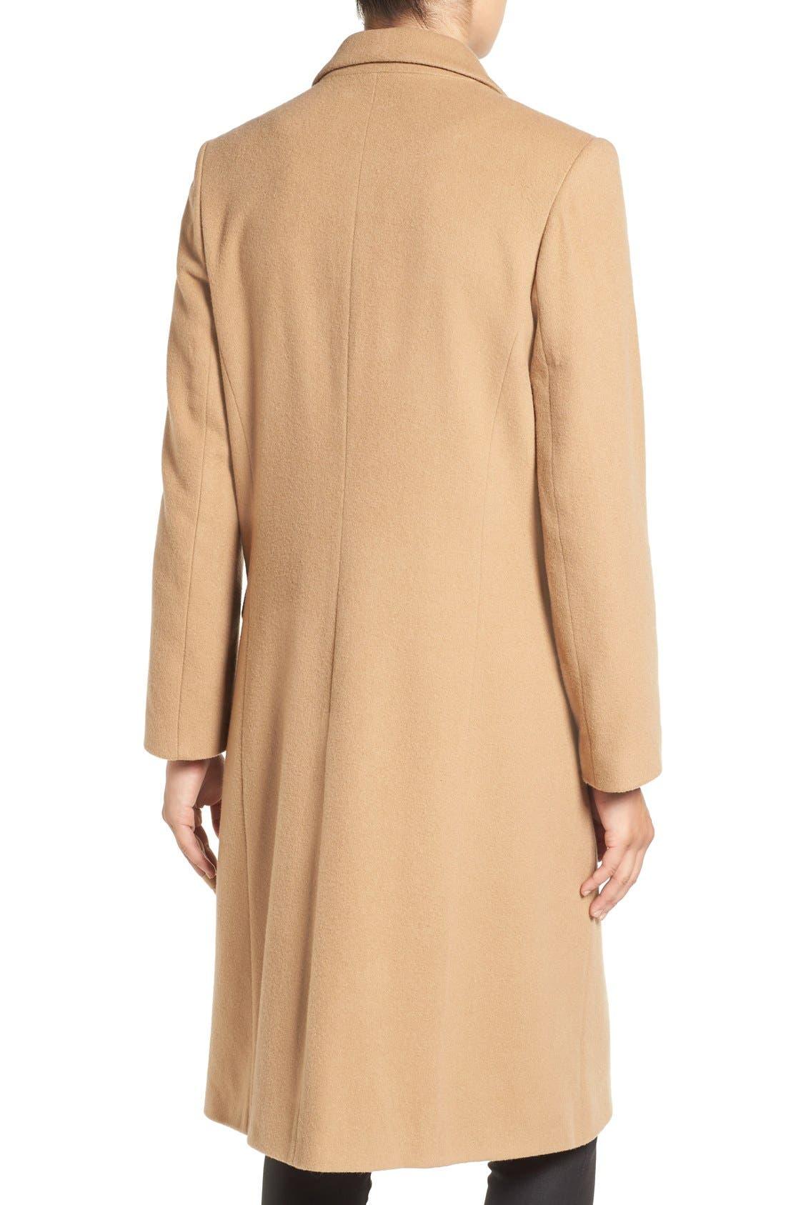 Alternate Image 2  - Helene Berman Wool Blend College Coat