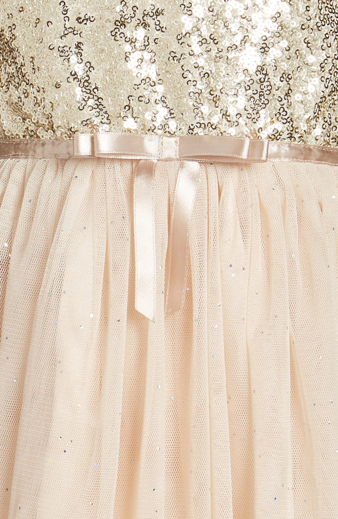 Alternate Image 3  - Popatu Sequin Bodice Tulle Dress (Toddler Girls, Little Girls & Big Girls)