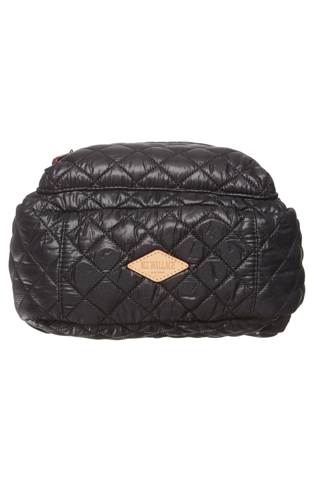 Alternate Image 6  - MZ Wallace 'Small Metro' Quilted Oxford Nylon Backpack