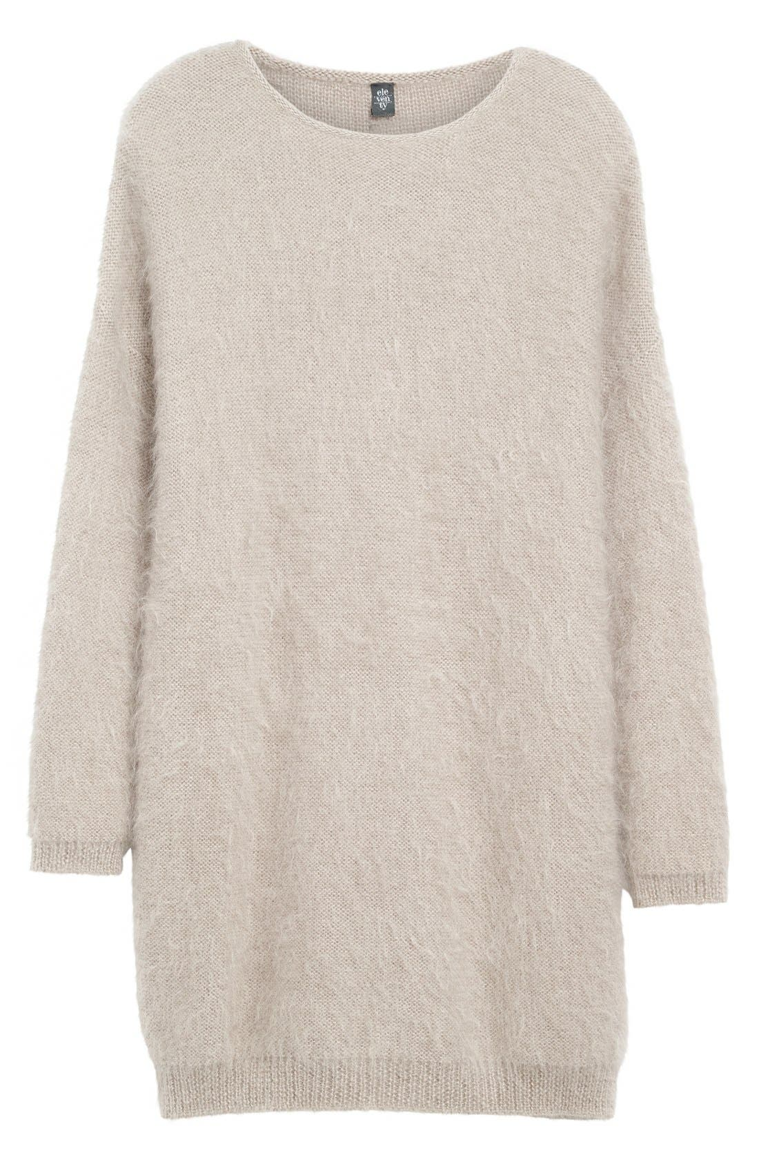 Alternate Image 4  - Eleventy Mohair & Silk Sweater Dress