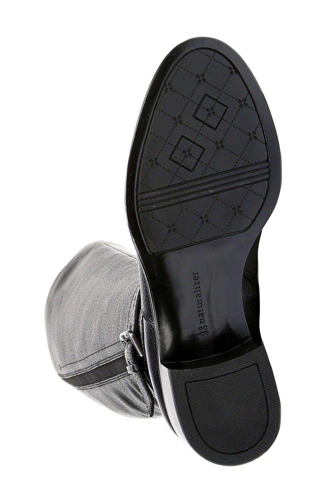 Alternate Image 4  - Naturalizer 'Wynnie' Riding Boot (Women) (Wide Calf)
