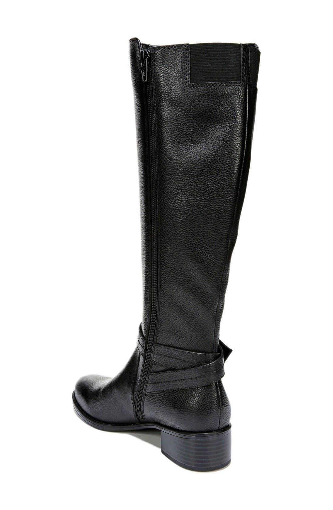 Alternate Image 2  - Naturalizer 'Wynnie' Riding Boot (Women) (Wide Calf)